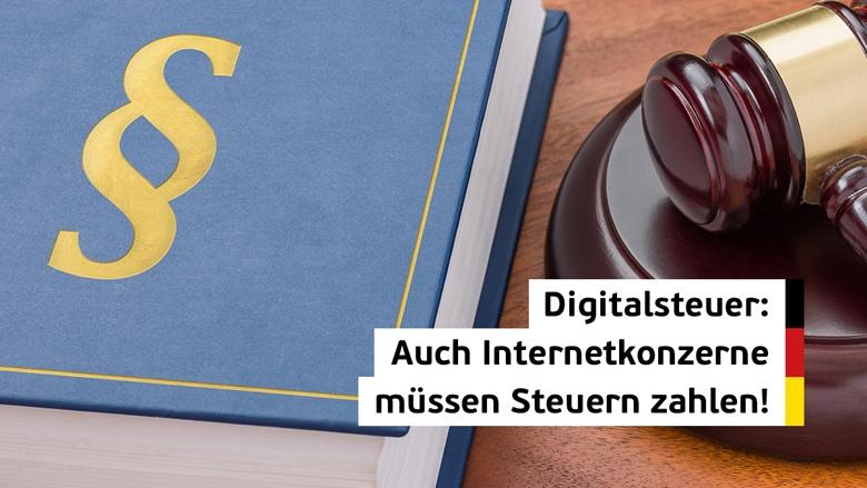 Digitalsteuer: Auch Internetkonzerne müssen Steuern zahlen!