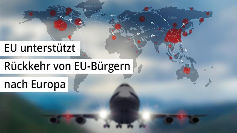 EU unterstützt Rückkehr von EU-Bürgern nach Europa