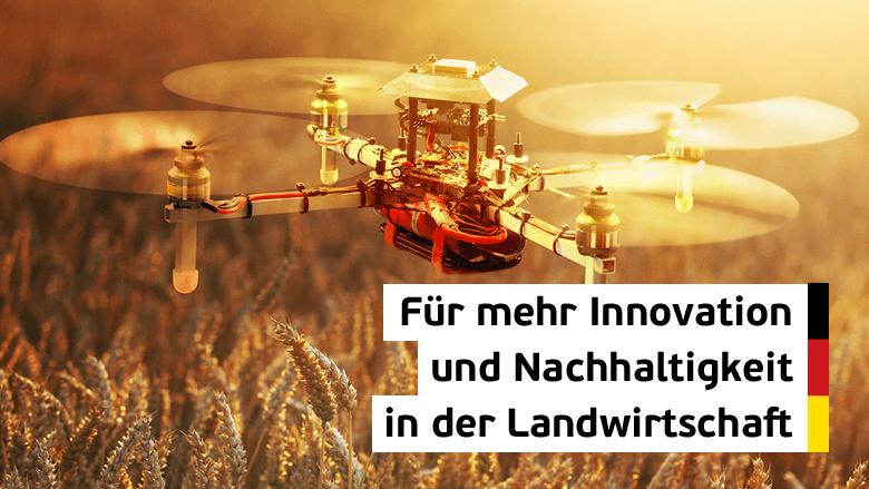 Digitalisierung - auch für die Landwirtschaft