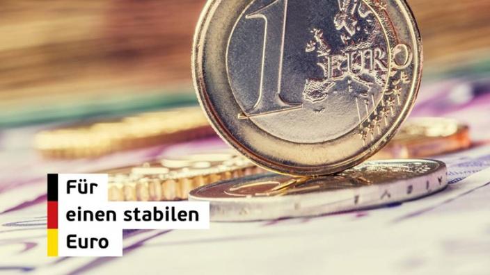 Euro: Für eine stabile Währung