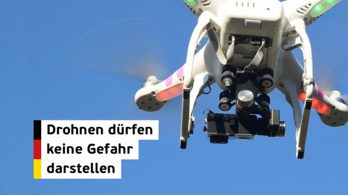 Flugsicherheit von Drohnen weiter erhöhen!