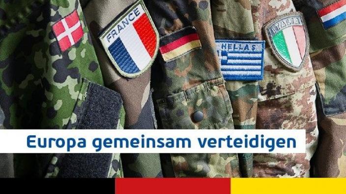 Verteidigungsunion: Unsere Bürger besser verteidigen!