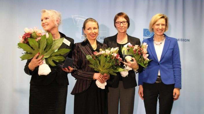 Verleihung des Europäischen Bürgerpreises mit Dr. Angelika Niebler, Co-Vorsitzende der CDU/CSU-Gruppe im Europäischen Parlament, Berlin 02.02.2015