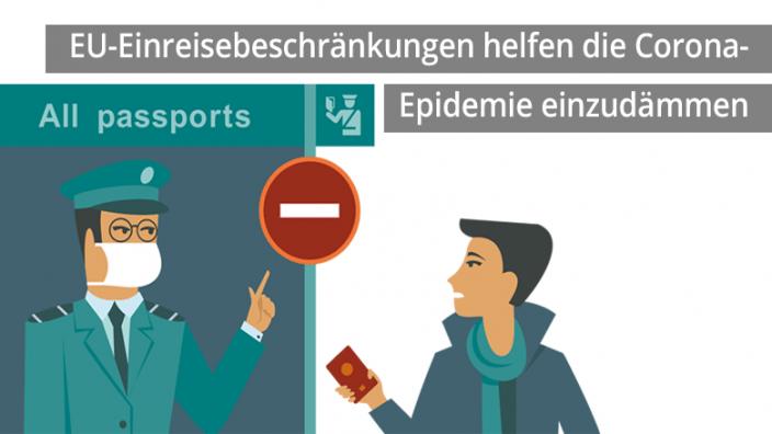 EU-Einreisebeschränkungen helfen Corona-Epidemie einzudämmen