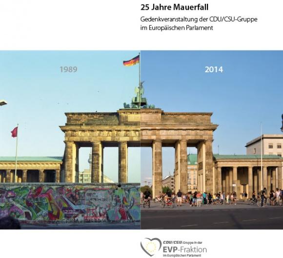 """Broschüre: """"25 Jahre Mauerfall"""""""