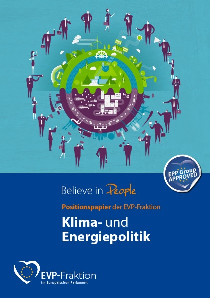 Positionspapier der EVP-Fraktion: Klima- und Energiepolitik