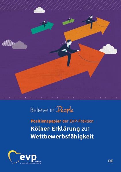 Positionspapier der EVP-Fraktion zur Kölner Erklärung zur Wettbewerbsfähigkeit