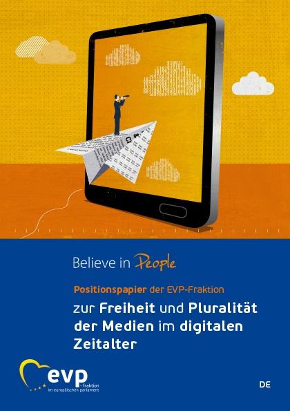 Positionspapier der EVP-Fraktion zur Freiheit und Pluralität der Medien im digitalen Zeitalter