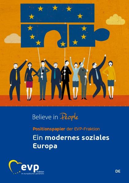 Positionspapier der EVP-Fraktion zur ein modernes soziales Europa